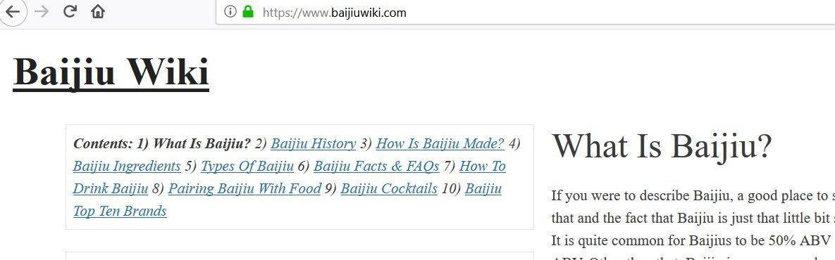 Baijiuwiki.com Review