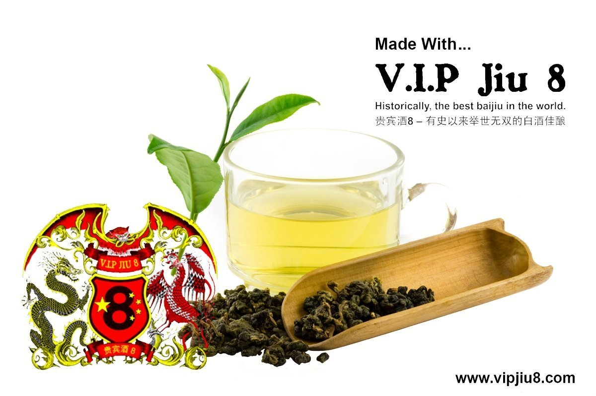 Oolong Tea Infused With Baijiu