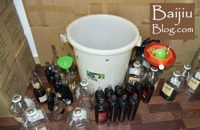 RMB 17 Million Fake Alcohol Arrests